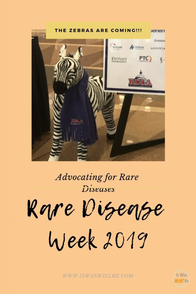 I participated in Rare Disease Week 2019