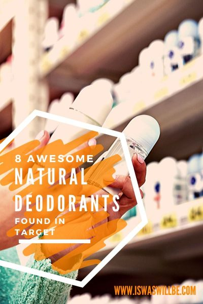 Natural deodorants in target