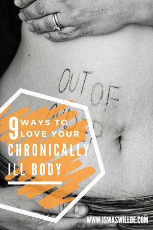 chronically ill body blog graphic