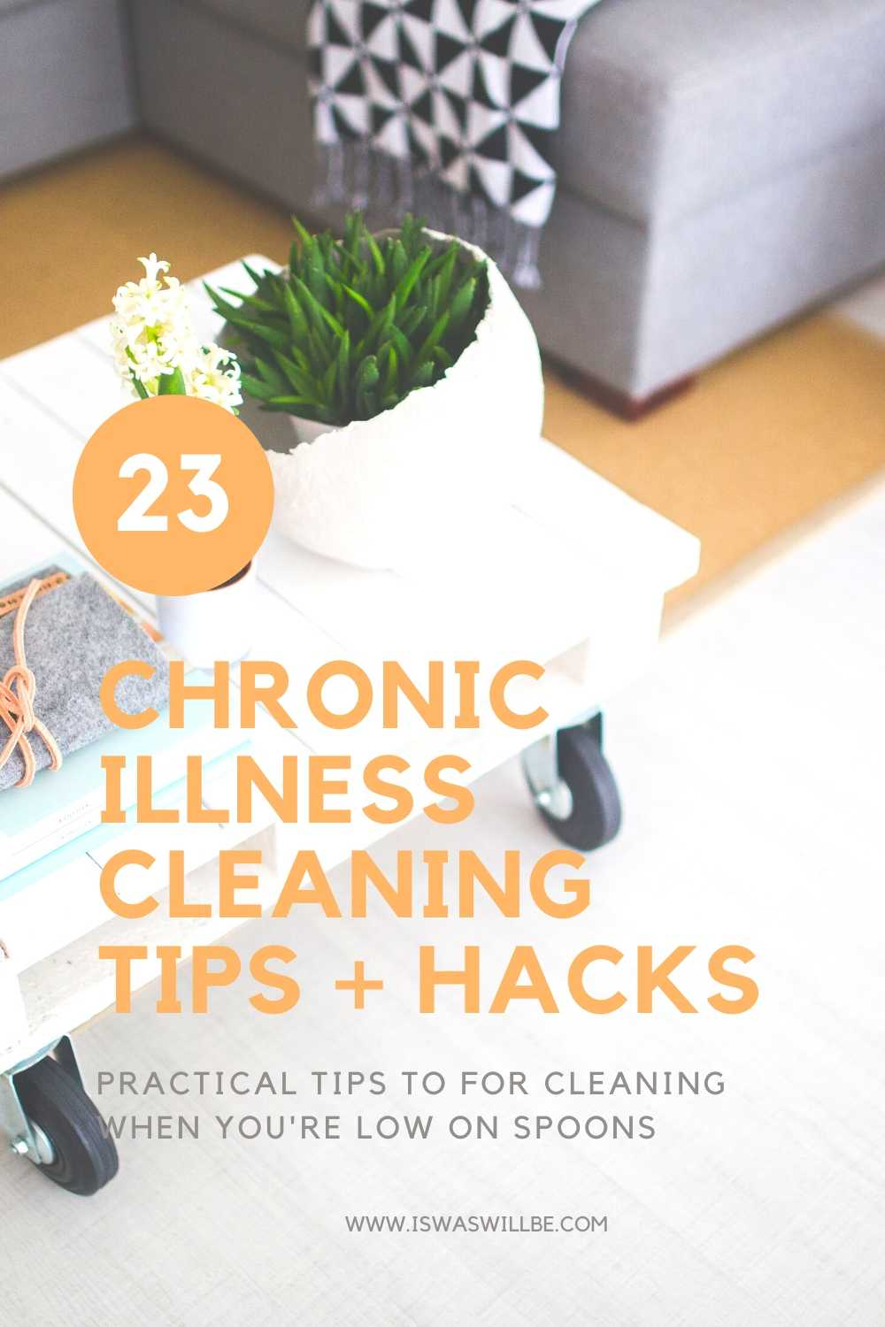 Chronic Illness Cleaning Tips