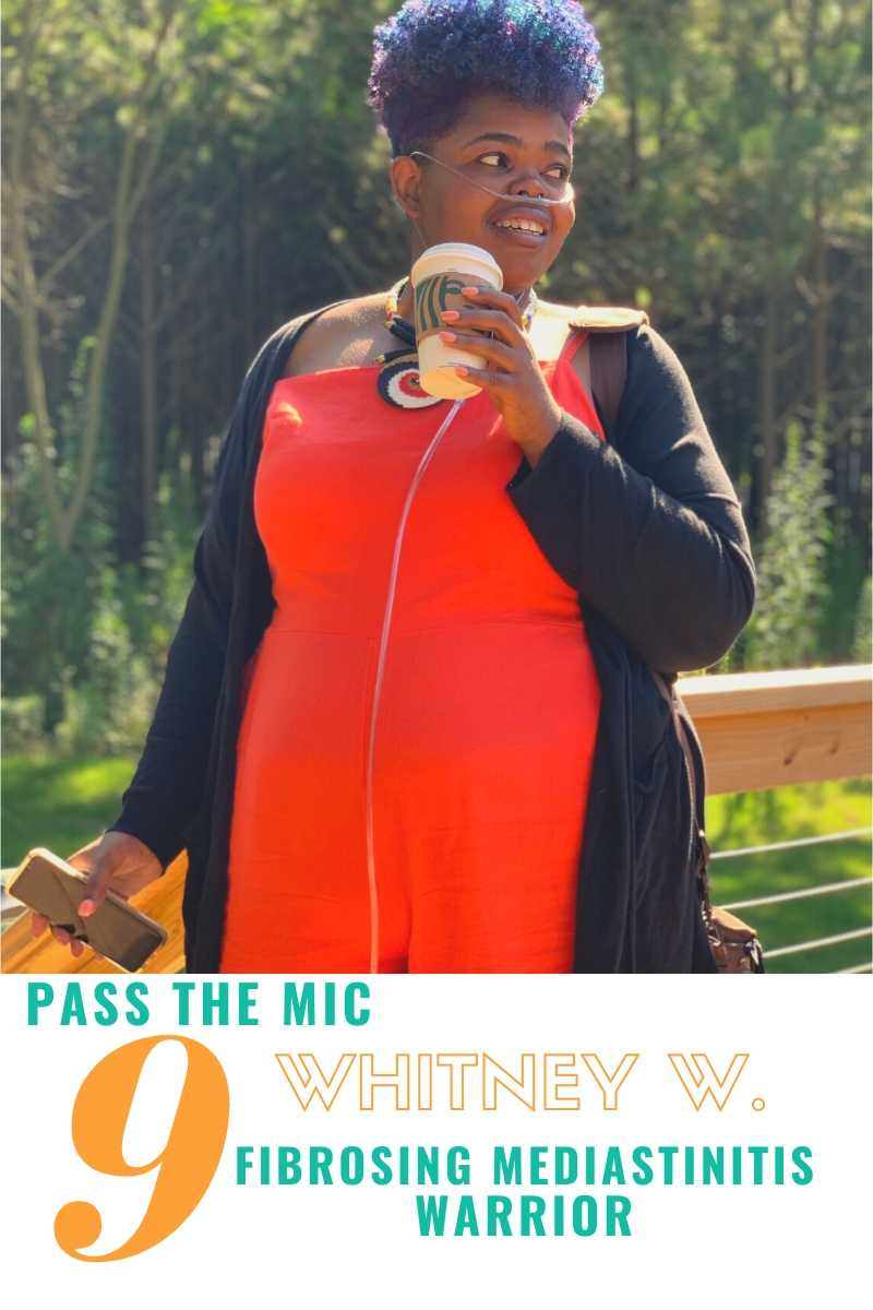 Whitney West Fibrosing Mediastinitis Pass the Mic Interview Graphic
