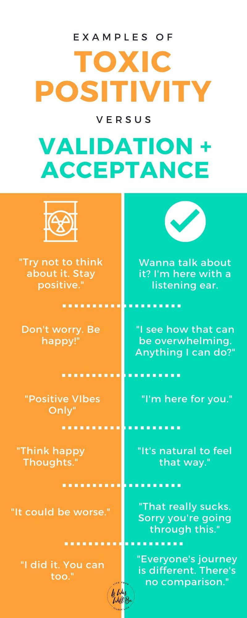 examples of toxic positivity meme