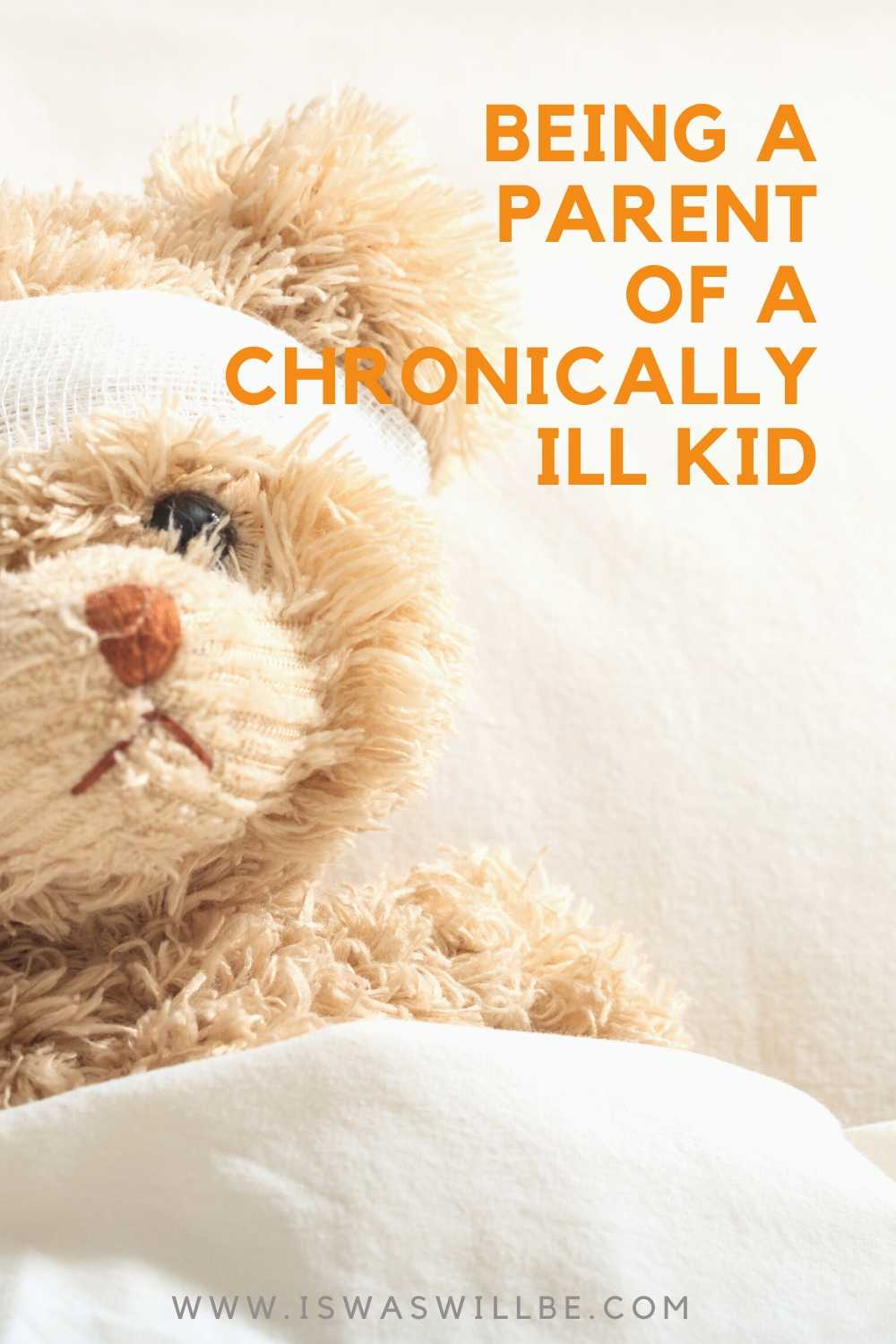 Image of sick teddy bear