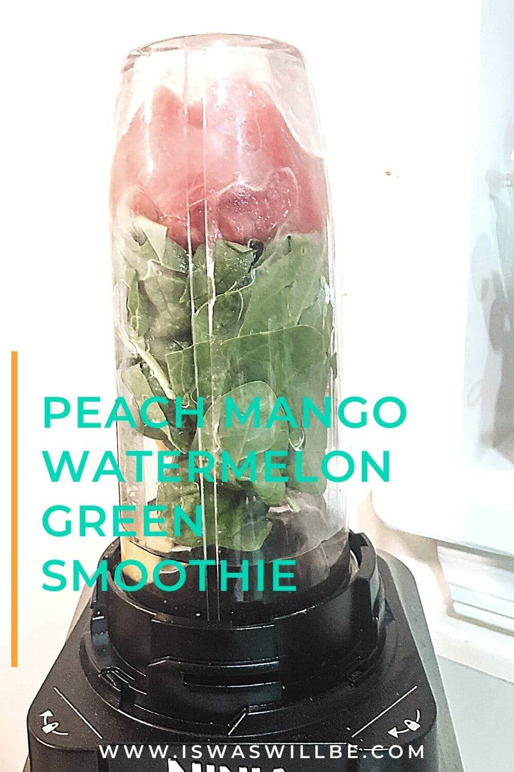 peach watermelon smoothie recipe